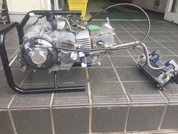 モンキー AB27 12v ヨシムラ88CC デイトナ油圧クラッチ 5速ミッション _画像2