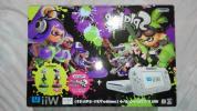 【新品未開封】Wii U本体スプラトゥーンセット(amiboアオリ・ホタル付き)