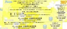川崎フロンターレ ホームゲーム ホームA自由共通券(ACL) ペア(2枚)