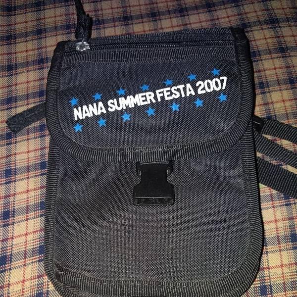 水樹奈々 【入手困難】NANA SUMMER FESTA 2007 ショルダー ポーチ バッグ