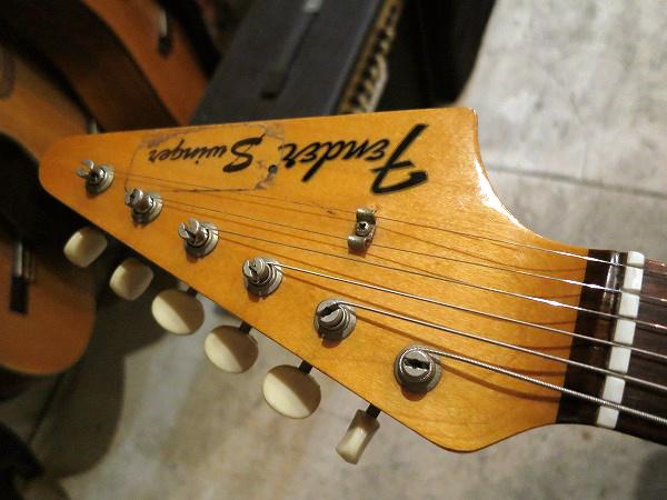 激レア!Fender 1969年製 Swinger (Arrow / Musiclander) Lake Placid Blue Vintage 良好!グッドサウンド!Bass V Musicmaster 大推薦!