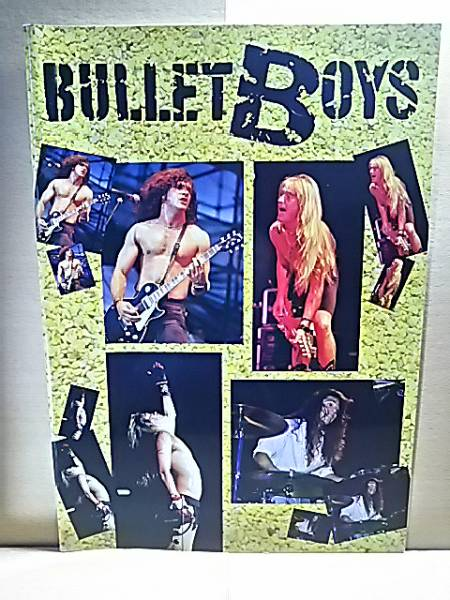 BULLETBOYSブレットボーイズ/日本公演1989/ツアーパンフ