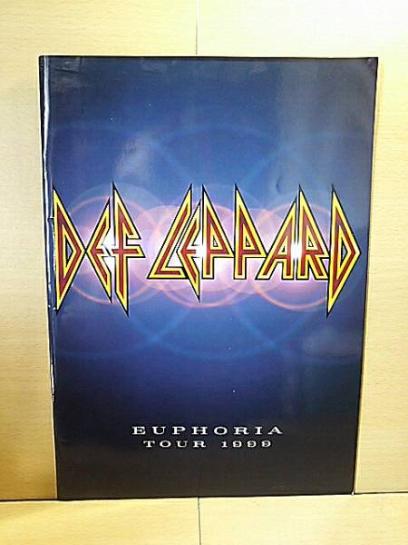 DEF LEPPARDデフ・レパード/Euphoria Tour 1999/ツアーパンフ