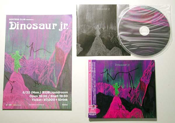 ★★【ダイナソーJr./Dinosaur Jr.】直筆サインセット★★