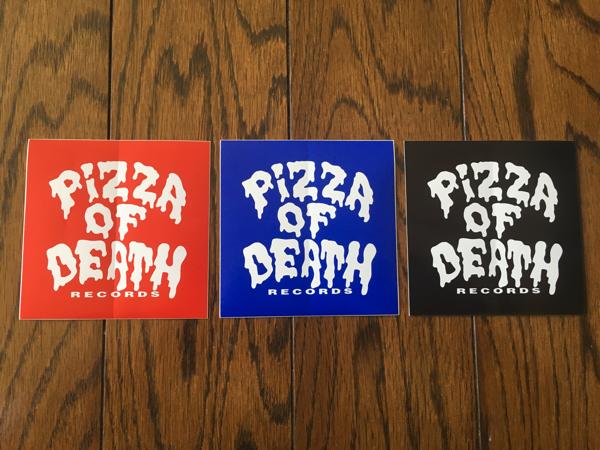PIZZA OF DEATH ピザオブデス ステッカー シール WANIMA ワニマ KEN YOKOYAMA Tシャツ パーカー