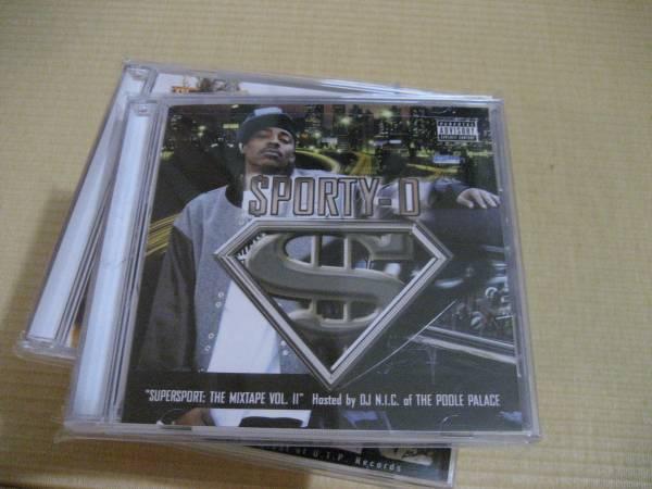 CD Sporty-O, DJ N.I.C. Supersport: The Mixtape Vol. II gangsta GANGSTA G-RAP G-FUNK G-LUV_画像1