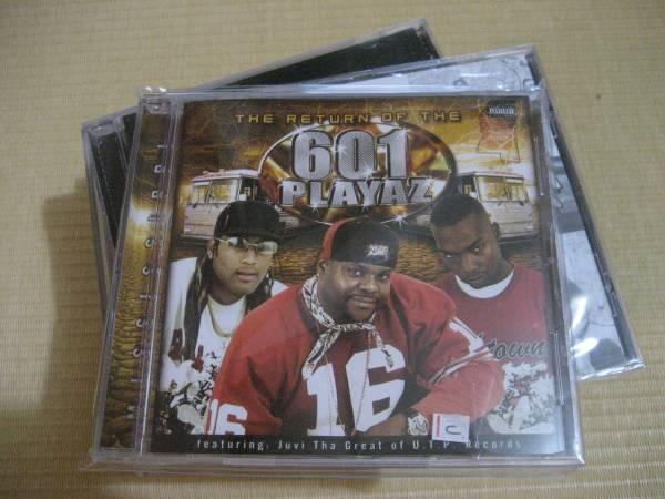 CD 601 Playaz / The Return Of The 601 Playaz gangsta g-love GANGSTA G-RAP G-FUNK G-LUV
