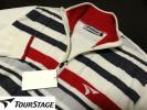 新品★TOUR STAGE ゴルフ メンズ ニット ハーフジップセーター ジャケット[L]1円~ Golf ブリヂストン