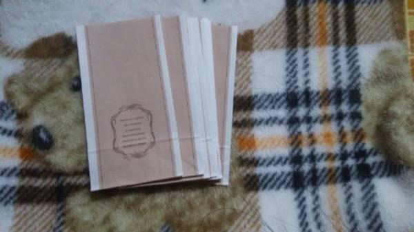 ☆彡ピンクの角底袋10枚☆彡ラッピング/フリマ/雑貨類/アクセサリー/小物類/ハンドメイド類などに_画像2
