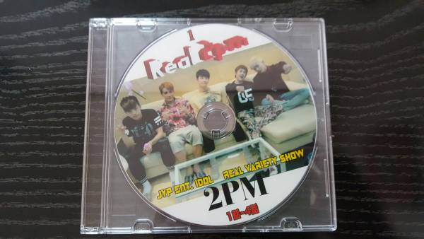 REAL 2PM DVD 1話~4話
