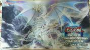 遊戯王 海外 公式 「青眼の精霊龍 」WCQ2016 プレイマット