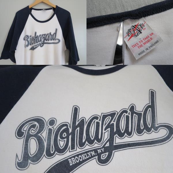 96'S バイオハザード Tシャツ Mata Leao ニューヨークハードコア NYHC BIOHAZARD ビンテージ