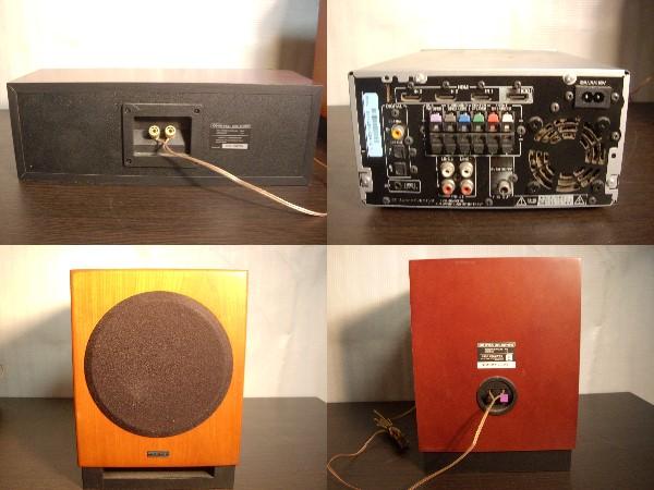 ONKYO SA-205HDX 5.1ch対応 + スピーカー4点 ホームシアターセット_画像2