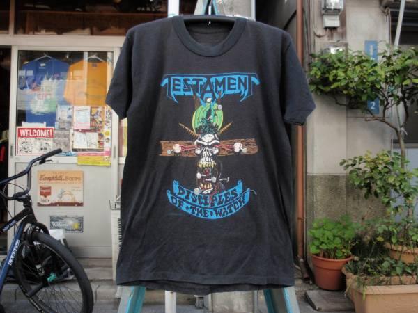 88年製 TESTAMENT(テスタメント) ツアーTシャツ サイズM?