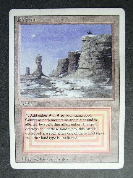 MtG デュアルランド Plateau (リバイスド版)