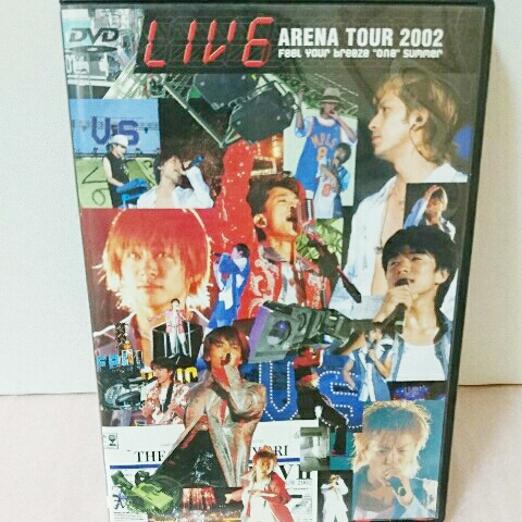 初回限定版/V6/ライブイシックス/live DVD/2002/LIV6 コンサートグッズの画像