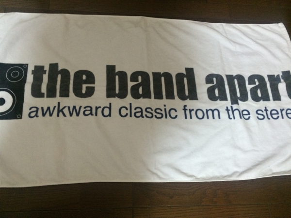 the band apart タオル/バンドアパート、バスタオル
