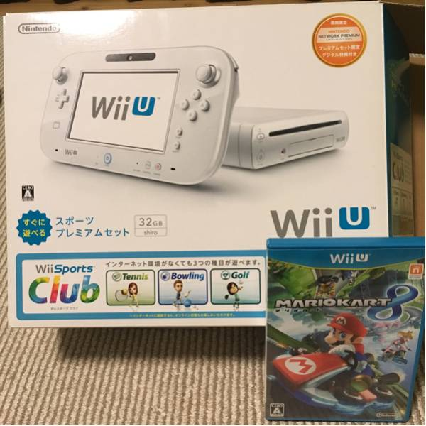 Wii Sports + MARIOKART8