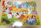 granpapa グランパパ goki 知育玩具 木製パズル 子犬の学校  新品未開封 木のおもちゃ 48ピース