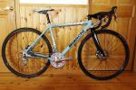 BIANCHI PRONTO (2009) size490 used チェーン新品 チェレステ シクロクロス・ツーリング最適