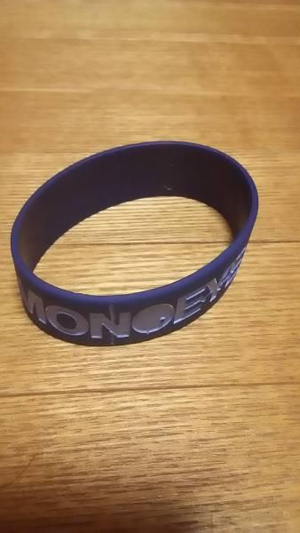 MONOEYES ライブグッズ ラバーバンド ブルー 開封済新品