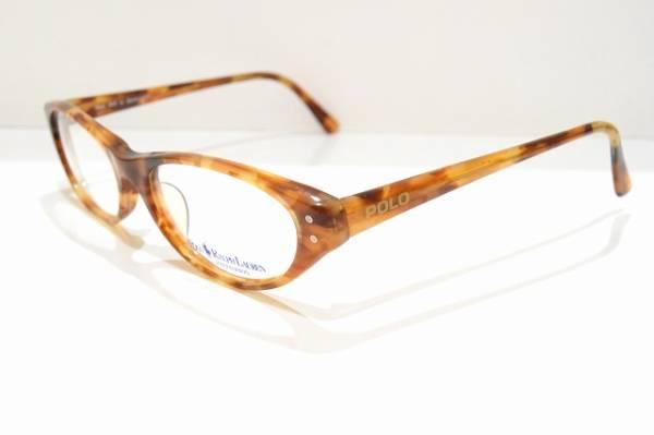 RALPH LAURENラルフローレンPOLO-365 メガネフレーム ヴィンテージ サングラス べっ甲柄 デッドストック 新品_画像2