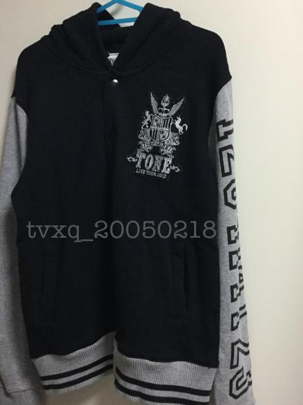 東方神起 TONE LIVE TONE 2012☆公式パーカー サイズM