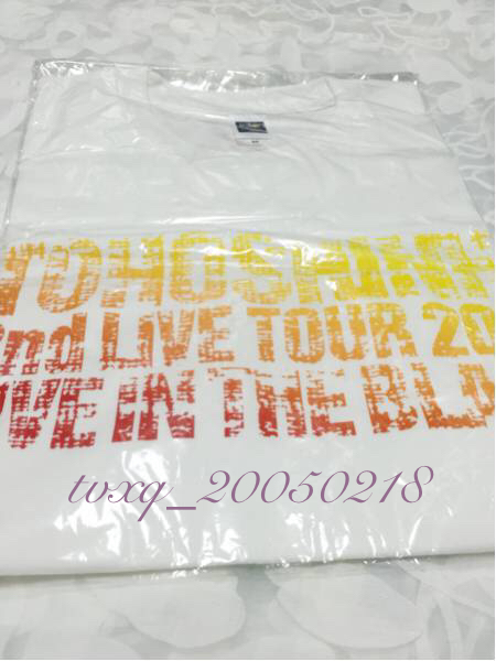 東方神起 2nd LIVE TOUR 2007☆Tシャツ/サイズM 新品未開封