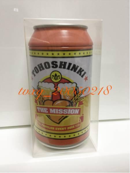 東方神起 THE MISSION☆ゴールデン飲み物缶 Bigeast ミニタオル入 未使用