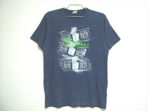 【D】送料無料★良品★dustbox ダストボックス 半袖Tシャツ XLサイズ Machine Records バンドT ライブグッズ
