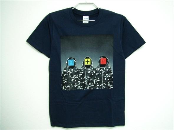 【I40】送料164円★美中古品★RHYMESTER ライムスター Tシャツ XSサイズ 紺 ネイビー 野外音楽フェスティバル 人間交差点 2015 グッズ