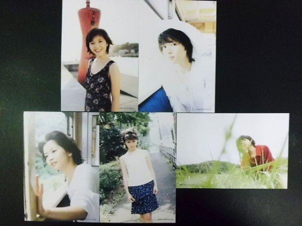 ●ポストカード) 三浦理恵子 ★5枚SET★ ①