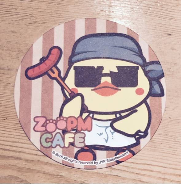 ZooPMカフェ コースター ピヨン ウヨン