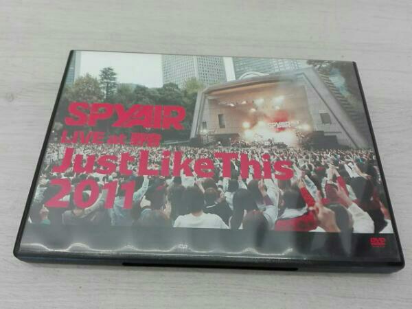 SPYAIR LIVE at 野音 Just Like This 2011 ライブグッズの画像