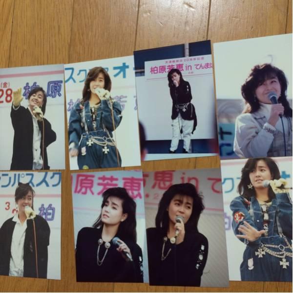 柏原芳恵80年代アイドル写真送料92円即決価格中古