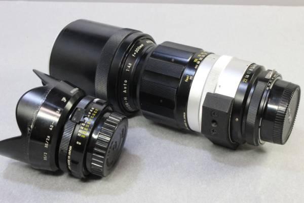 k-572 Nikon  F 一眼レフカメラ レンズなど付属品多数 ブラックボディ アンティーク _画像3
