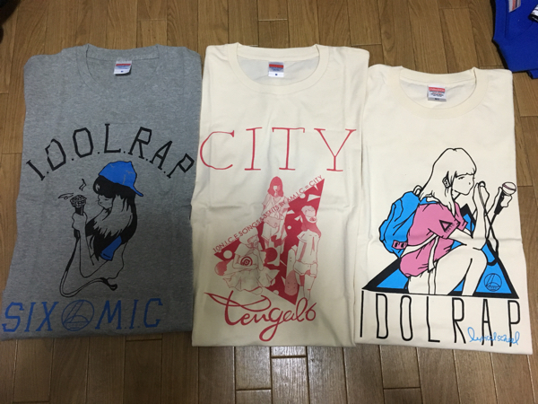 lyrical school tengal6 Tシャツセット④ Mサイズ