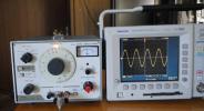 **菊水417C低周波発振器**
