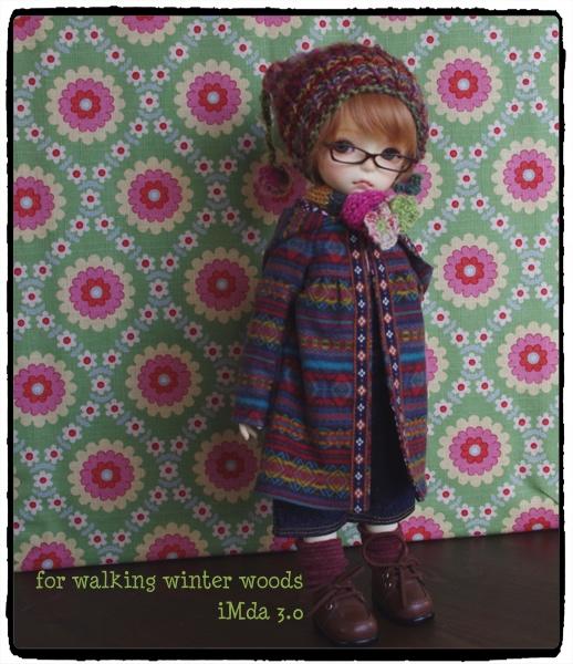 iMda 3.0のお洋服 *for walking winter woods*