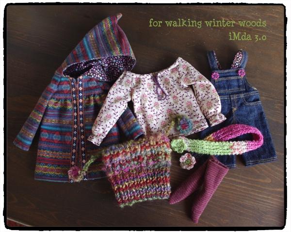 iMda 3.0のお洋服 *for walking winter woods*_画像3