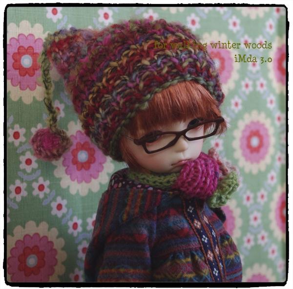 iMda 3.0のお洋服 *for walking winter woods*_画像2