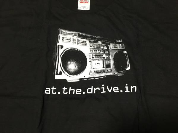 At The Drive in Boom Box Tシャツ サイズL
