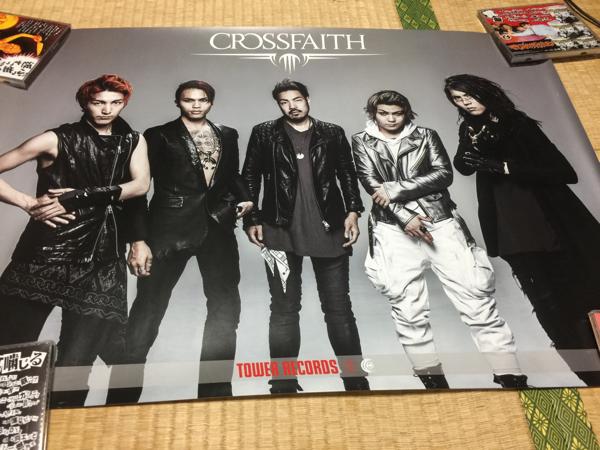 ◆Crossfaith・XENO タワレコ特典ポスター◆
