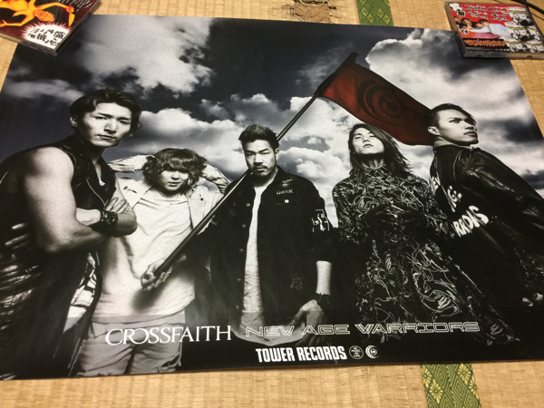 ◆Crossfaith・New Age Warriors タワレコ特典ポスター◆