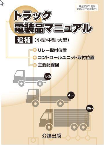 【即決】トラック電装品マニュアル 追補(小型・中型・大型)_画像1