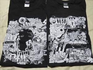 新品★9mm parabellum bullet 10th Anniversary Live「O」「E」(日本武道館ライブ)Tシャツセット Sサイズ ライブグッズの画像