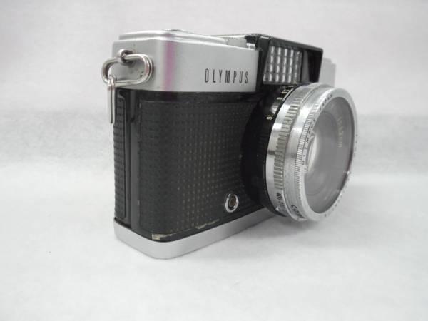 中古品 OLYMPUS オリンパス PEN-D カメラ F.Zuiko 1:1.9 f=3.2㎝ レンズ レンズカバー_画像3