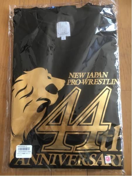 【新品】新日本プロレス×久米繊維44thロゴTシャツ、Mサイズ グッズの画像