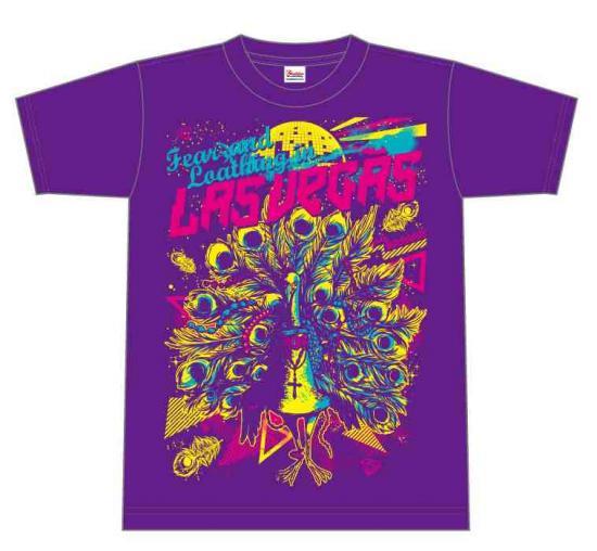 新品 Fear, and Loathing in Las Vegas 公式TシャツS パープル