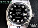 ROLEX◆1601◆デイトジャスト・10Pダイヤブラック【美品】1971年